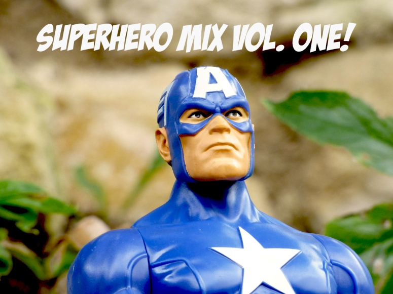 superhero mix vol one captain ameria